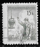 Stamps of the world : Czechoslovakia :  Checoslovaquia-cambio