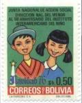 Stamps Bolivia -  50 aniversario del Instituto Interamericano del Niño