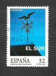 Stamps Spain -  Edf 3473 - Cine Español