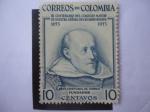 Stamps : America : Colombia :  III Centenario del Colegio Mayor de Nuestra Señora del Rosario (1653-1953) Bogotá - Fray Cristóbal