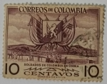 Stamps Colombia -  Colombia 10 ctvs