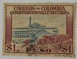 Stamps of the world : Colombia :  Colombia 1 Peso