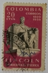 Stamps Colombia -  Colombia 20 ctvs