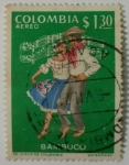 Stamps of the world : Colombia :  Colombia 1.30Peso