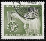 Sellos de America - Chile -  Matasello