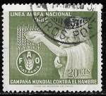 Stamps Chile -  Matasello