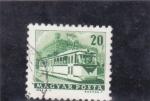 Stamps : Europe : Hungary :  TRANVIA