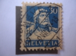 Stamps Switzerland -  William Tell - Héroe popular de Suiza