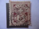 Stamps : Europe : Switzerland :  Placa de Valor Cruzada - Cruz de Suiza