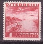 Stamps Austria -  serie- Vistas aéreas de Austria