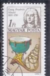 Stamps : Europe : Hungary :  GEORG FRIEDRICH HÄNDEL