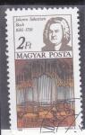 Stamps : Europe : Hungary :  JOHANN SEBASTIAN BACH