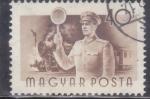 Stamps : Europe : Hungary :  JEFE DE ESTACIÓN