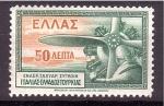 Stamps Europe - Greece -  Avión y Piloto