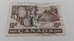Stamps Canada -  Poblado Indio