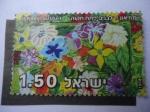 Sellos de Asia - Israel -  Flores - Conmemoración del Día de los Caídos.