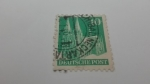 Stamps Germany -  Catedral de Colonia