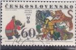 Stamps Czechoslovakia -  DIBUJO DE GENADIJ PAVLISIN