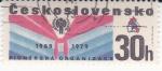 Sellos de Europa - Checoslovaquia -  30 ANIVERSARIO