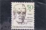 sellos de Europa - Checoslovaquia -  jawaharlal Nehru- exministro de la India