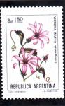 Sellos de America - Argentina -  FLORES- VIRREINA