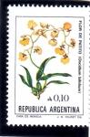 Sellos de America - Argentina -  FLOR DEL PATITO
