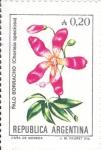 Stamps Argentina -  FLORES-PALO BORRACHO