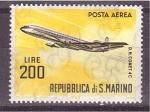 Stamps San Marino -  serie- Aviones