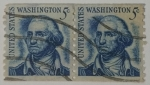 Stamps United States -  George Washinton 5c