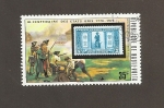 Stamps Burkina Faso -  Proclamación independencia de EEUU