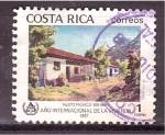 Sellos de America - Costa Rica -  Año Intern. de la Vivienda