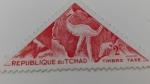 sellos de Africa - Chad -  Arte Prehistorico
