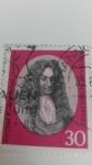 Stamps Germany -  Gottfried Wilhelm Leibnitz