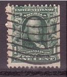 Stamps United States -  Franklin