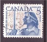 Sellos de America - Canadá -  300 aniv.