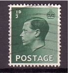 Stamps United Kingdom -  Jorge VI