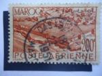 Stamps : Africa : Morocco :  Muros de marrueco franceses.