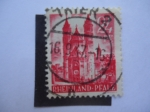 Stamps : Europe : Germany :  Wormser Dom, Catedral - Alemania,Ocupación Aliada 1945-1949 - Pheinland-Franz.