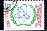 Sellos del Mundo : Europa : Bulgaria : 30 aniversario enegía atómica internacional