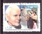 Sellos de America - Brasil -  II Encuentro del Papa con las Familias
