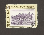 Stamps Poland -  25 Aniv. II Guerra Mundial