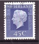 Sellos de Europa - Holanda -  Juliana