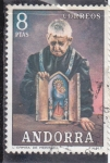 Sellos del Mundo : Europa : Andorra : L'ERMITA DE MERITXELL