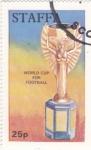 Stamps United Kingdom -  COPA JULES RIMET