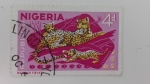 Sellos de Africa - Nigeria -  Leopardo