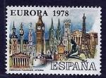 sellos de Europa - España -  Europa   1978