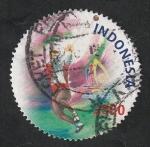 sellos de Asia - Indonesia -  Deportes, Lanzamiento de martillo