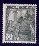 Stamps Spain -  Francisco Franco