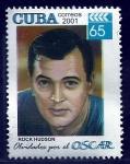 Sellos del Mundo : America : Cuba :  ROCK  HUDSON