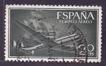 Stamps Spain -  Avion